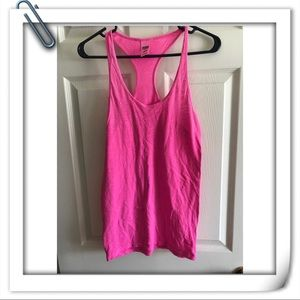 Pink T shirt with racer back